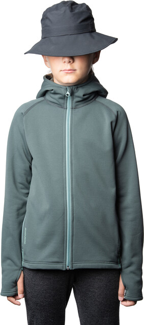 Houdini Power Houdi Jacket Barn deeper green | Gode tilbud